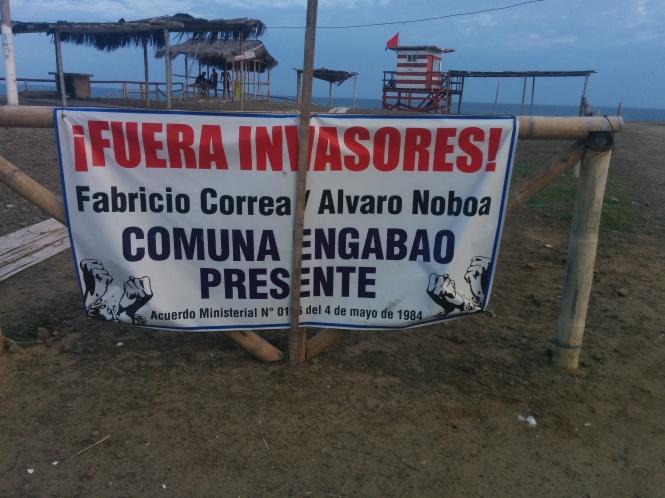 PUERTO ENGABAO, PARAISOS DEL ECUADOR