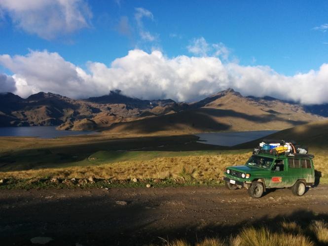 El frío del Chimborazo, Ecuador